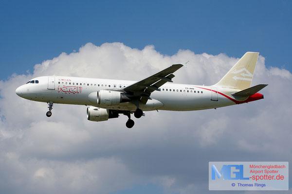 21.06.2014 TS-INN Nouvelair / Libyan Airlines A320-212