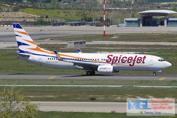 05.04.2015 OK-TSA Smartwings / SpiceJet B737-8S3/W