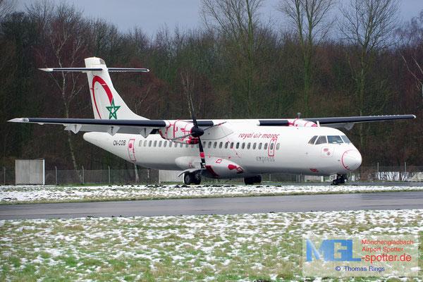 07.02.2013 CN-COB Royal Air Maroc Express ATR 72-202 cn444