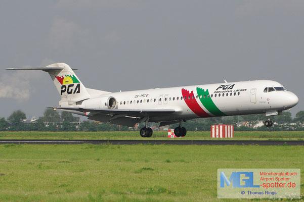20.08.2012 CS-TPC PGA Portugalia Fokker 100