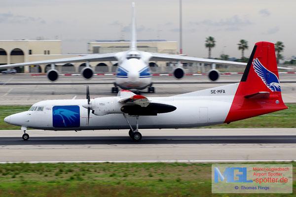 30.12.2013 SE-MFA Amapola Flyg Fokker 50F