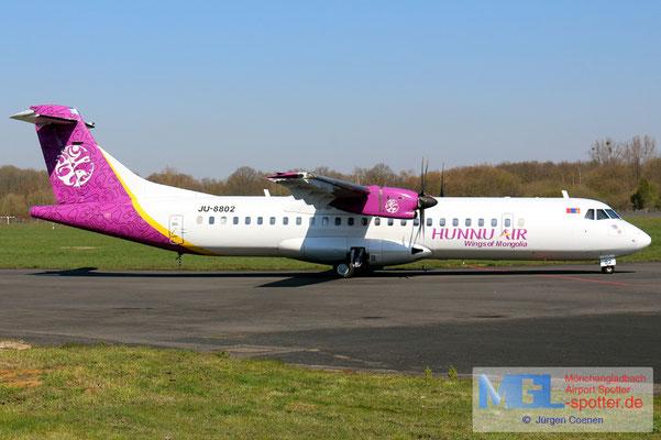 26.03.2020 JU-8802 Hunnu Air ATR 72-500 cn773