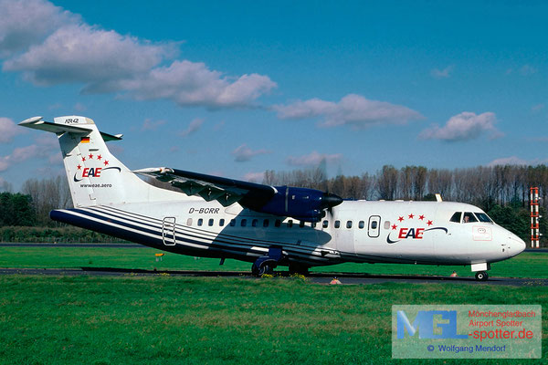 03.2002 D-BCRR European Air Express ATR 42-300 cn255