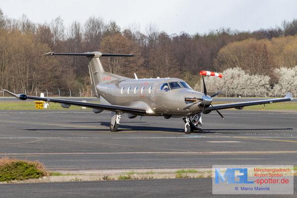 05.04.2021 LXF-FLG Jetfly Aviation Pilatus PC-12