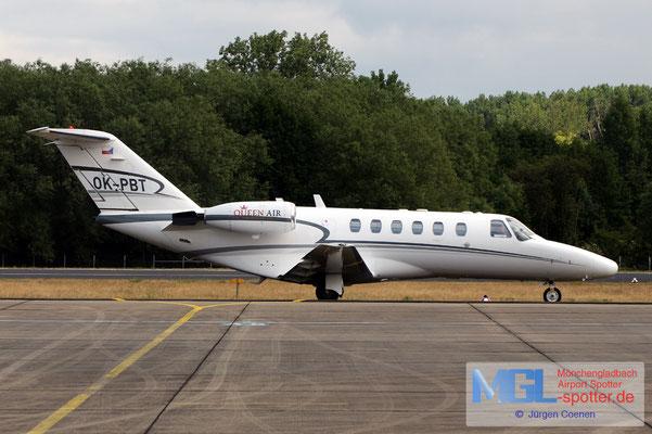 08.06.2020 OK-PBT Queen Air Cessna 525A Citation CJ2