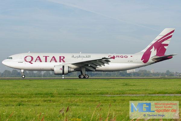 24.09.2011 A7-AFB Qatar Cargo A300B4-622RF