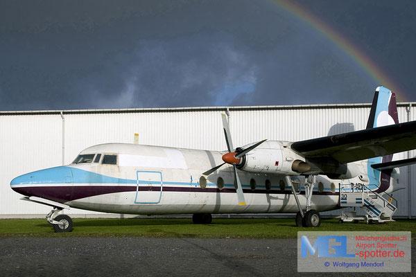 24.12.2011 D-AELL WDL / (Citylink) Fokker F-27-200