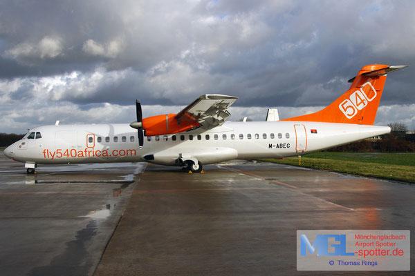 05.01.2012 M-ABEG fly540africa Angola ATR 72-202 cn483