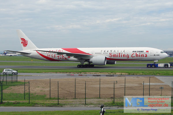 19.05.2013 B-2035 Air China / Smiling China B777-39LER