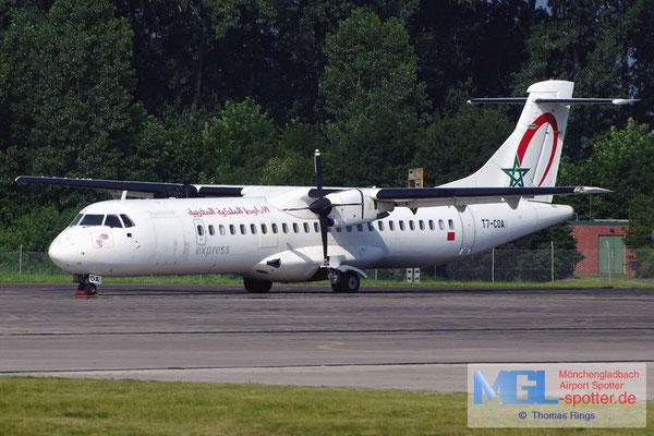 06.07.2013 T7-COA Royal Air Maroc Express ATR 72-202 cn441
