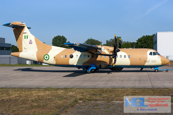 07.05.2020 NAF930 Nigeria Air Force ATR 42-500MP cn693