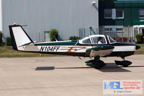 14.08.2019 N104FF Fuji FA-200-160