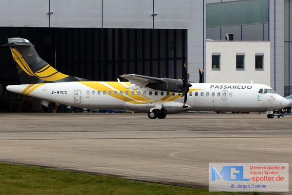 11.04.2018 2-RPDC NAC / Passaredo ATR 72-600 cn1040