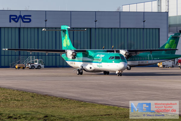 20.02.2021 EI-FAT Stobart Air / Aer Lingus Regional ATR 72-600 cn1097