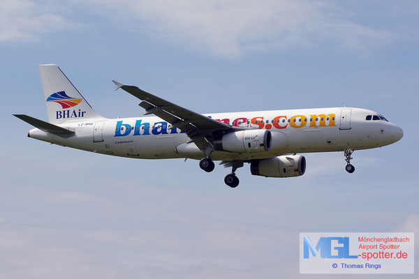22.06.2014 LZ-BHG BH Airlines A320-232