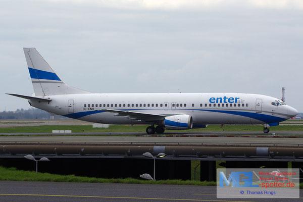 11.04.2015 SP-ENH Enter Air B737-405