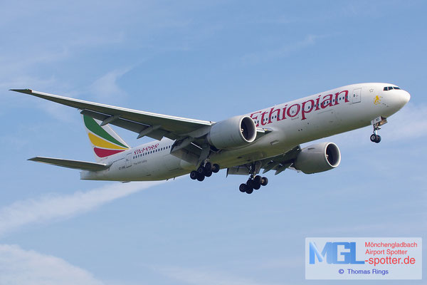 22.06.2014 ET-ANO Ethiopian Airlines B777-260LR