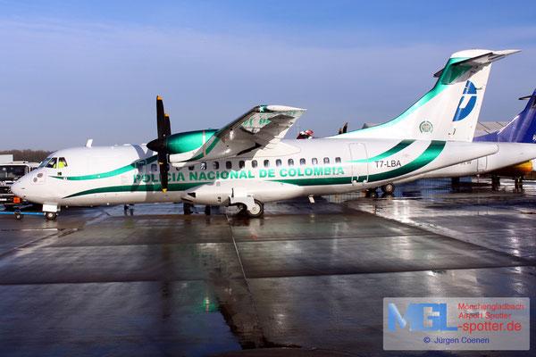 02.01.2017 T7-LBA Policia Nacional de Colombia ATR 42-300 cn255