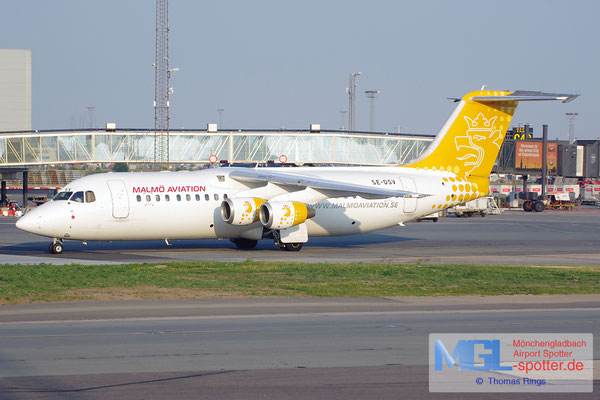 26.07.2014 SE-DSV Malmö Aviation BAe-146 Avro RJ100