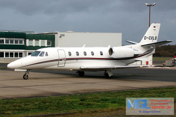 03.02.2020 D-CFLY Air Hamburg Cessna 560XL Citation XLS