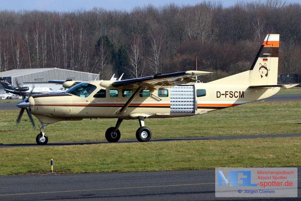 14.03.2018 D-FSCM Cessna 208B Grand Caravan