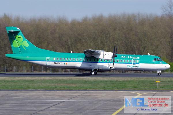 25.03.2017 EI-FAT Stobart Air / Aer Lingus Regional ATR 72-600 cn1097