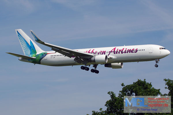 22.06.2014 9Y-LGW Carribean Airlines B767-316ER/W