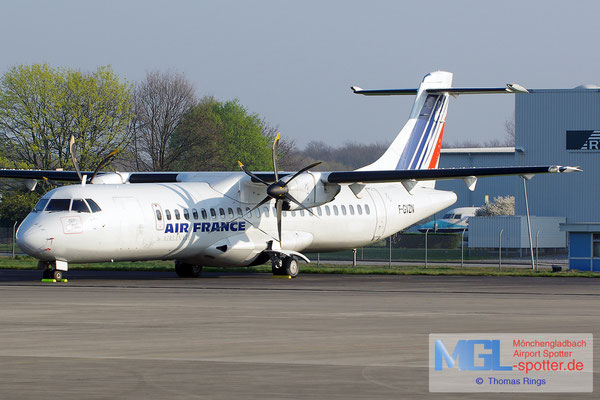 29.03.2014 F-GVZN Airlinair / Air France ATR 72-500 cn563