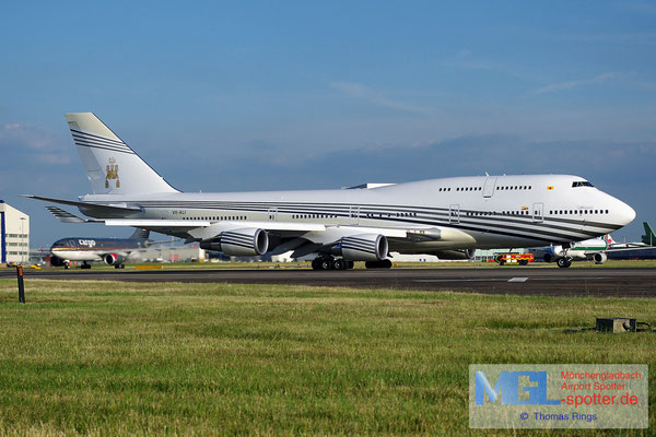 21.06.2014 V8-ALI Brunei Government B747-430