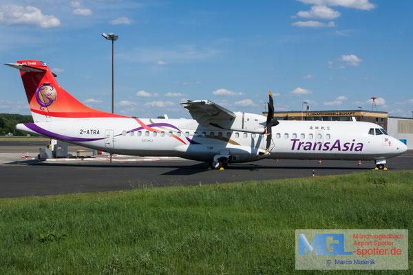 02.06.2019 2-ATRA NAC / TransAsia ATR 72-600 cn1318