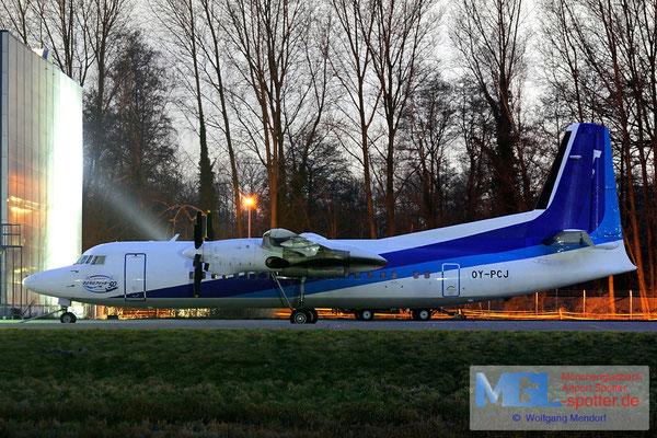 02.2009 OY-PCJ NAC / (ANA) Fokker F-50
