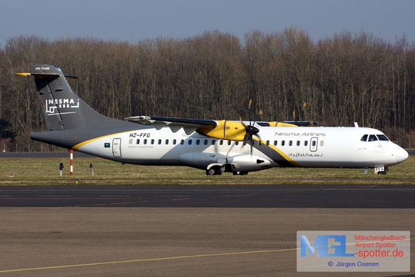 21.02.2018 HZ-FFG Nesma Airlines ATR 72-600 cn1311