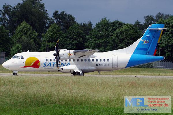 07.06.2017 OY-PCB NAC / Satena ATR 42-500 cn522