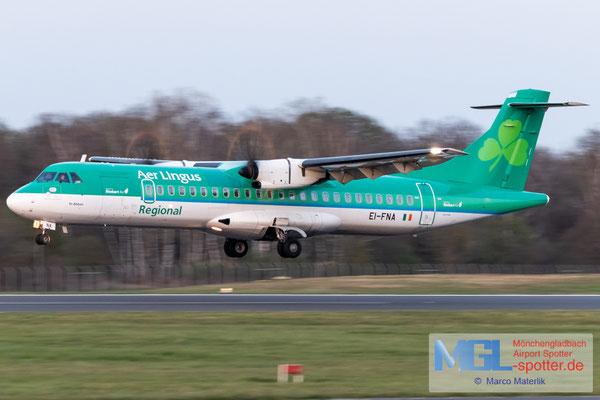 31.03.2021 EI-FNA Stobart Air / Aer Lingus Regional ATR 72-600 cn1325