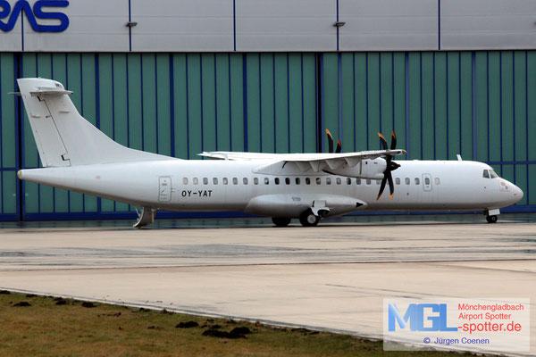 16.11.2016 OY-YAT NAC ATR 72-500 cn696
