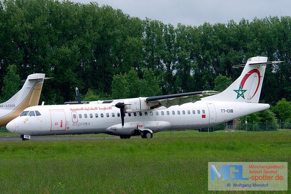 22.05.2013 T7-COB Royal Air Maroc Express ATR 72-202 cn444
