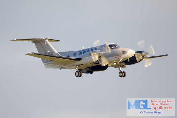 02.01.2014 AS1126 Malta Air Force Hawker Beechcraft B200 King Air