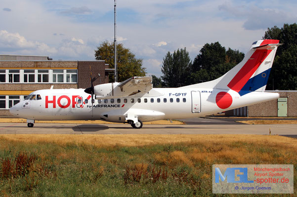 30.07.2018 F-GPYF HOP! ATR 42-500 cn495