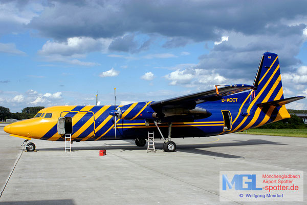 20.08.2004 D-ACCT Avanti Air / (Sky Team) Fokker F-27-500