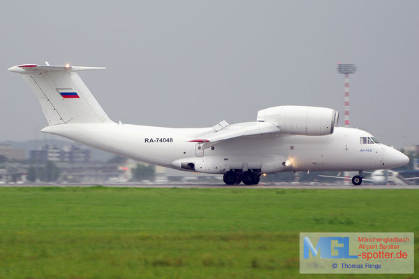 06.08.2014 RA-74048 Sverdlovsk 2nd Air Enterprise An-74D