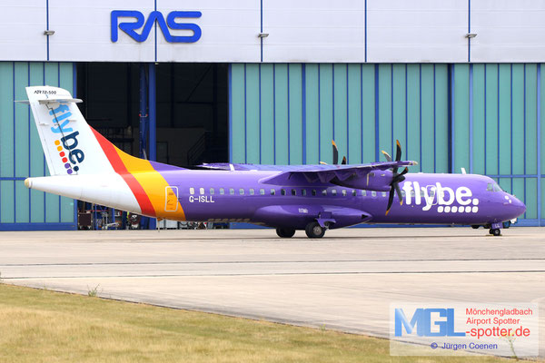 25.06.2018 G-ISLL Blue Islands / Flybe ATR 72-500 cn696