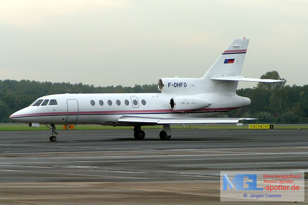 19.10.2006 F-OHFO FALCON FA50EX
