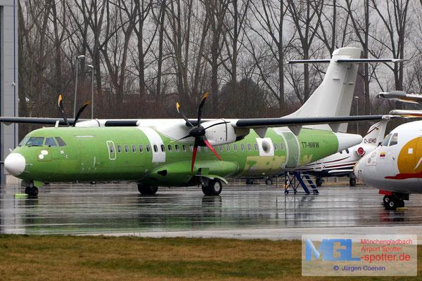 07.03.2018 T7-NWW Alenia ATR C-72-500MPA cn768