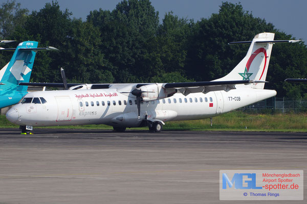 06.07.2013 T7-COB Royal Air Maroc Express ATR 72-202 cn444