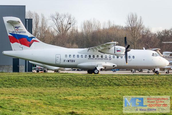 11.01.2020 F-WTBV ATR / Skyexpress ATR 42-300 cn291
