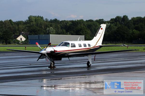 28.07.2021 D-FLBK Pipper PA-46
