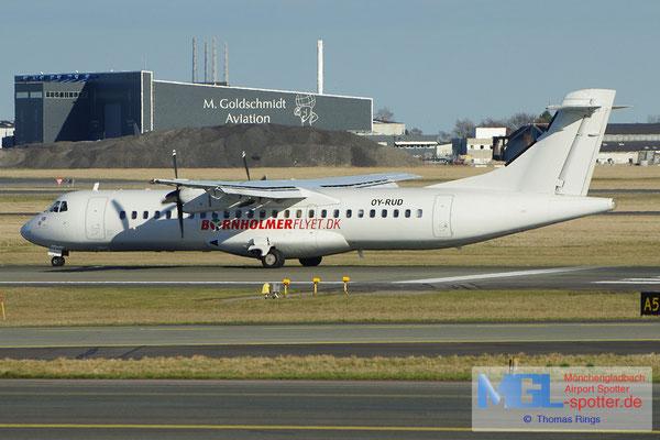 20.04.2013 OY-RUD Danish Air Transport / Bornholmerflyet.dk ATR 72-201