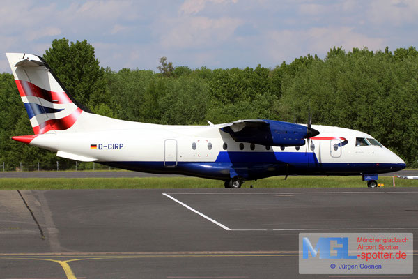 13.05.2017 D-CIRP MHS Aviation / (British Airways) Dornier Do328-110