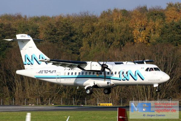 07.11.2017 F-WNUI ATR / Aeromar ATR 42-500 cn594