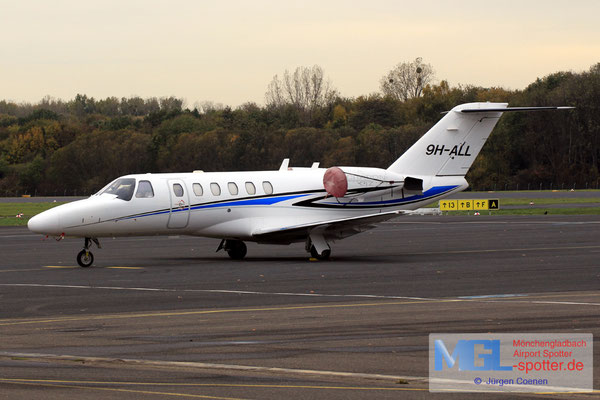 01.11.2018 9H-ALL Cessna 525 CitationJet CJ2